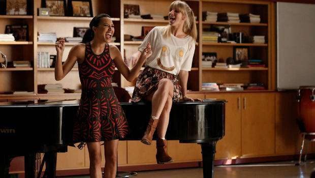 Glee 6x03 Jagged Little Tapestry