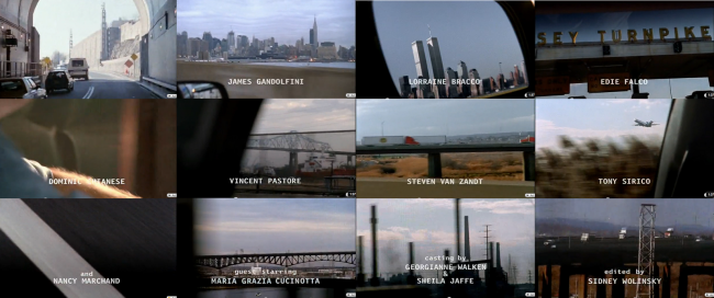 Title sequence copy