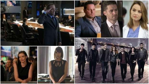 Spoiler Alert, Grey's Anatomy, Designated Survivor, UnReal, Shadowhunters, Deception