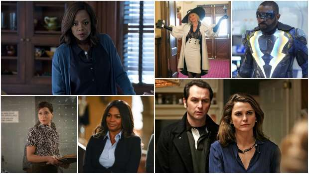 Spoiler Alert, How To Get Away With Murder, Dynasty, Black Lightning, The Good Fight, NCIS: LA