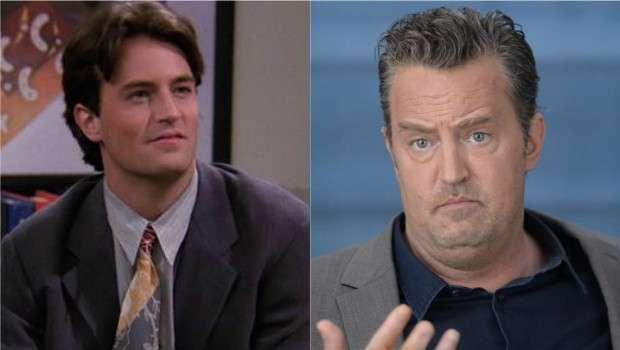 Chandler de Friends atualmente.