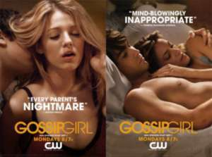 Gossip Girl, Pôster, CW, Marketing