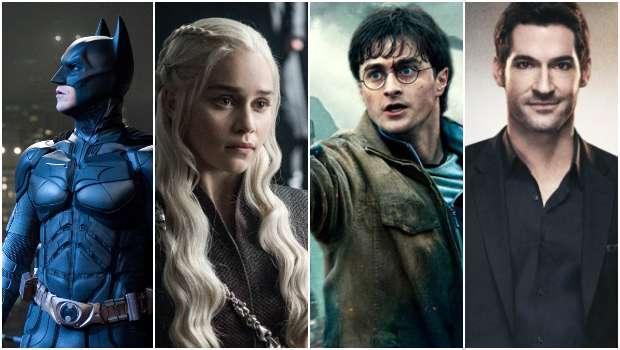 Batman, Game of Thrones, Harry Potter, Lucifer, Time Warner