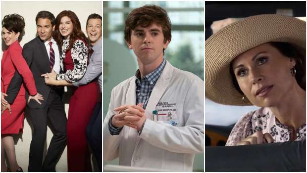 Audiência, Quedas, Números, Will & Grace, The Good Doctor, Speechless