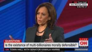 Kamala Harris, CNN Town Hall