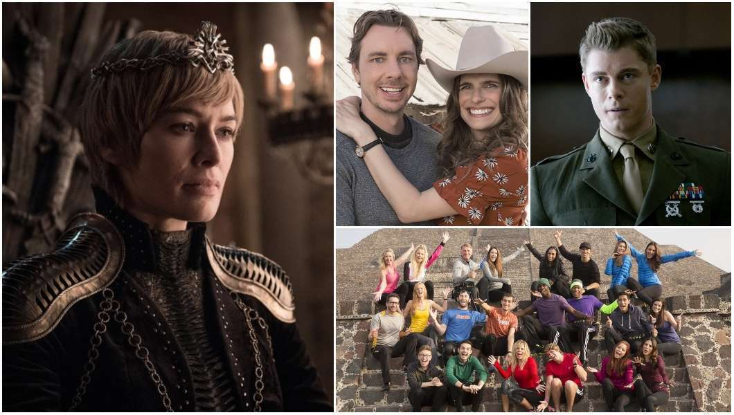 Game of Thrones, The Code, Bless This Mess, The Amazing Race