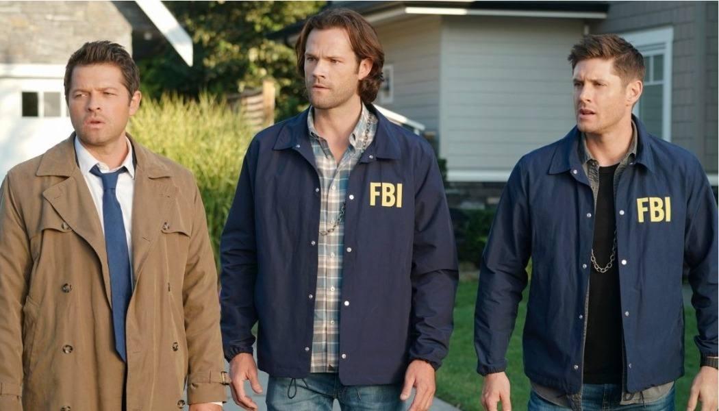 Imagem da última temporada de Supernatural