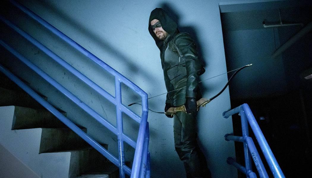 Imagem do episódio de estreia de Arrow