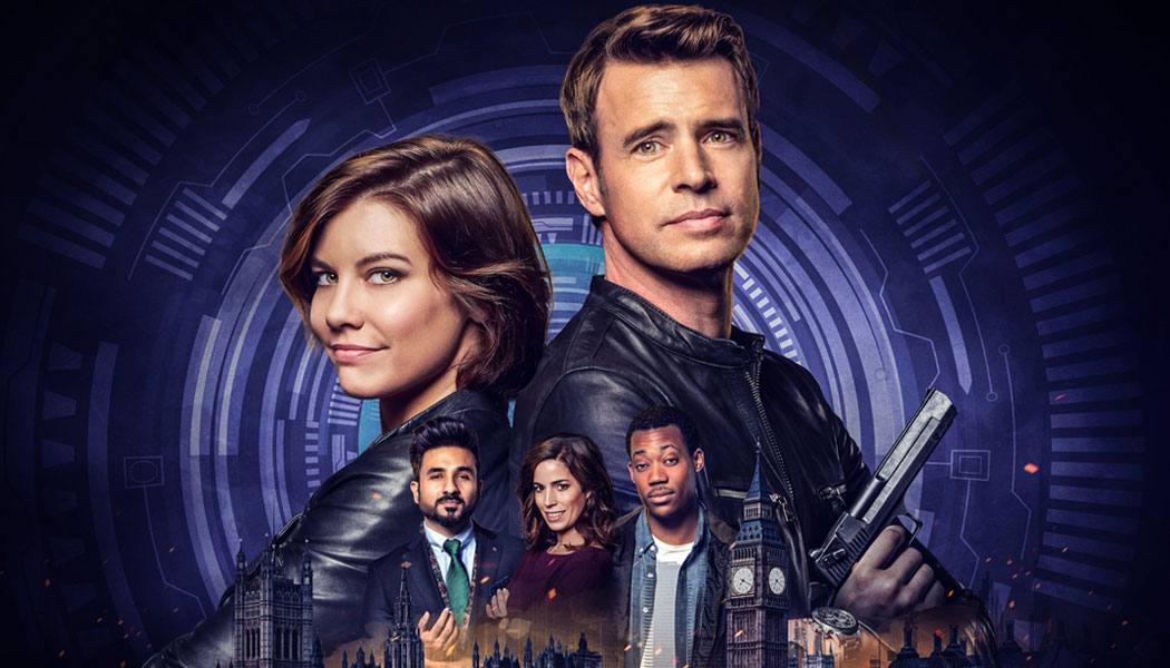 Poster da série Jogo de Espiões