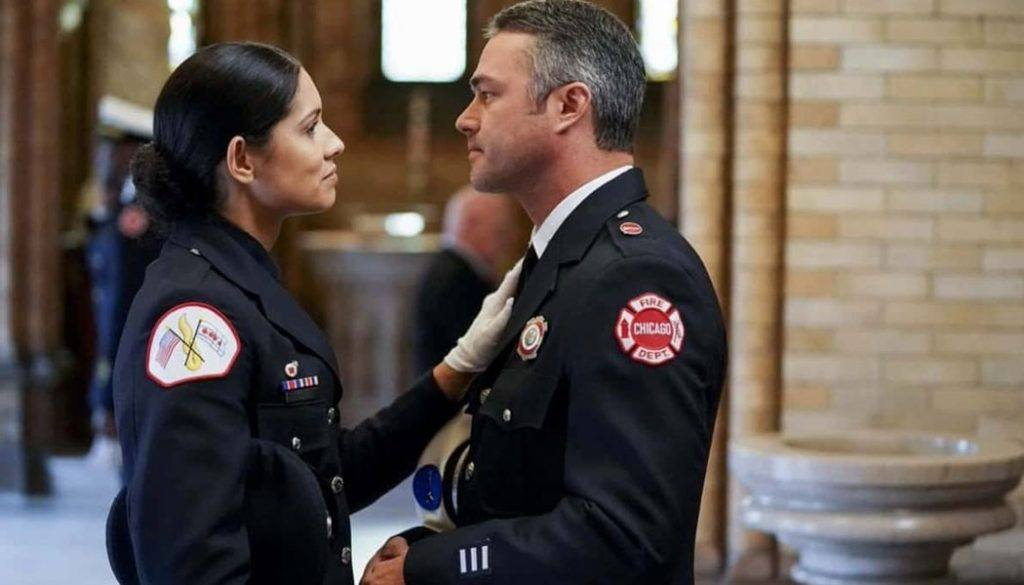 Stella e Severide em Chicago Fire