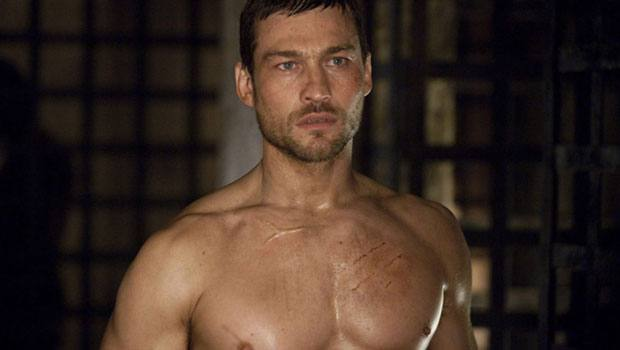 Andy Whitfield ator de Spartacus