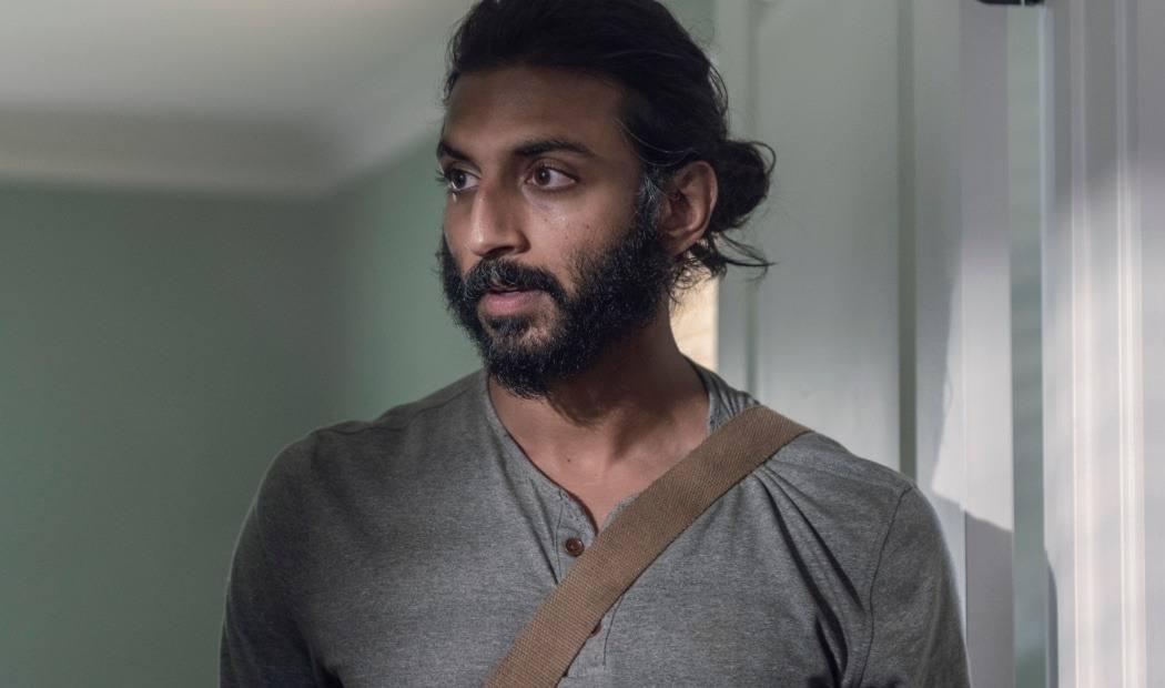 Imagem do episódio 10x07 de The Walking Dead que deu adeus a personagem