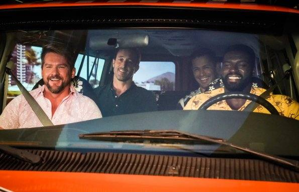 Imagem do crossover de Hawaii Five-0 e Magnum