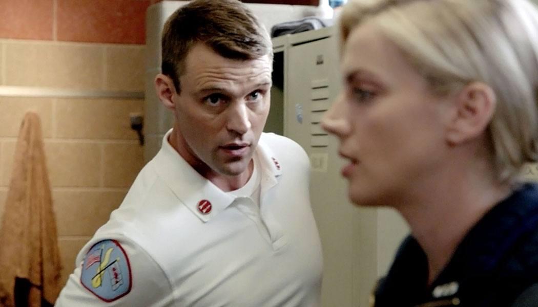 Brett e Casey em Chicago Fire