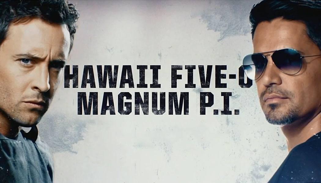 Crossover de Hawaii Five-0 e Magnum PI