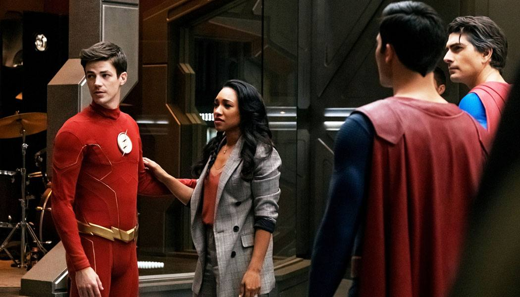 Imagem do episódio de The Flash 6x09 para o crossover Crise nas Infinitas Terras