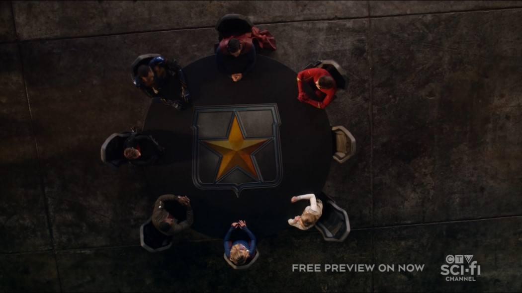 Crise nas Infinitas Terras 5x01 Legends of Tomorrow