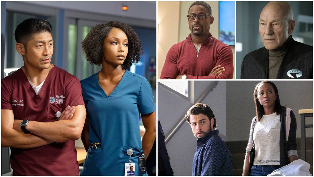 Spoiler Alert, Chicago Med, Star Trek_ Picard, How To Get Away with Murder, This Is Us