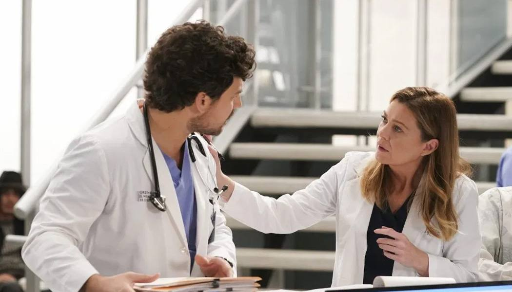 Greys Anatomy 16x14 DeLuca ficou em maus lençóis