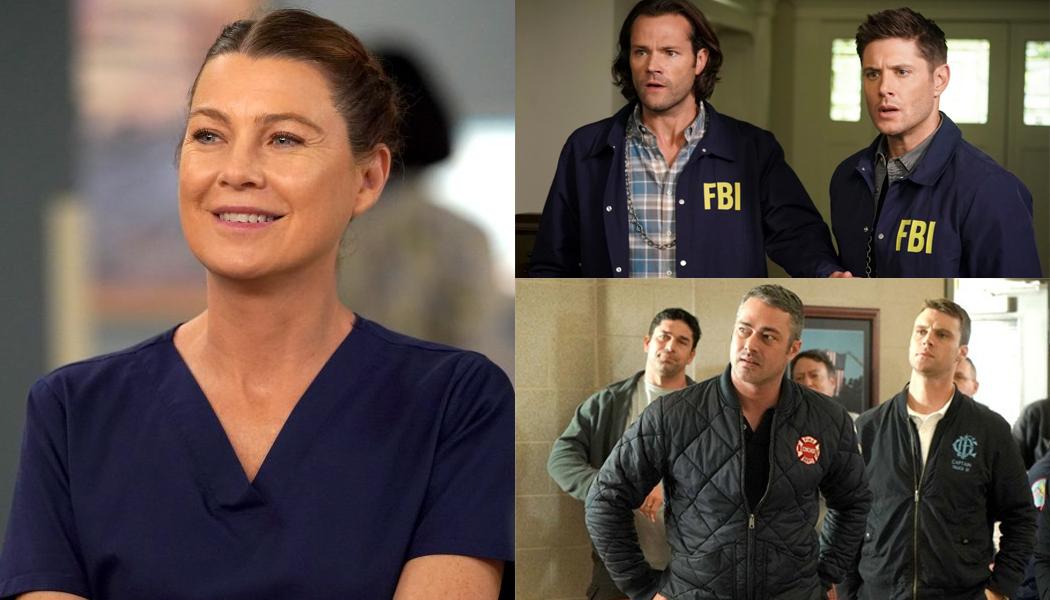 Grey's Anatomy séries pausadas pelo coronavírus