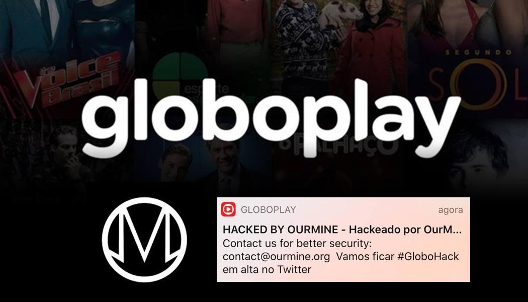 globoplay ataque hacker