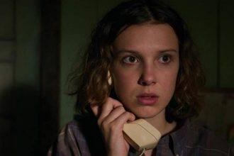 Millie Bob Brown Stranger Things transformação