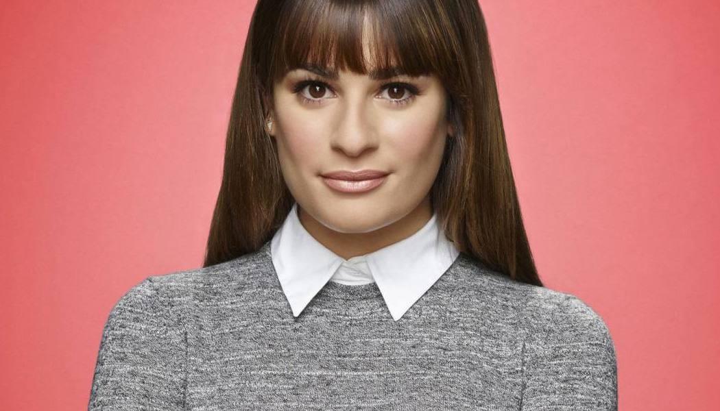 Lea Michele Glee racismo