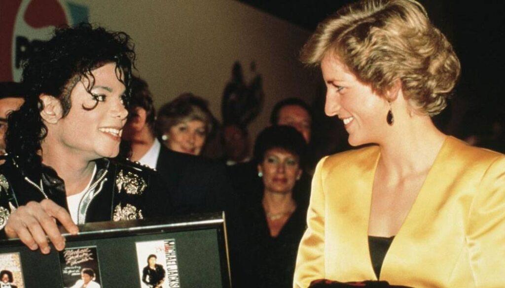 The Crown não mostrou amizade de Princesa Diana e Michael Jackson
