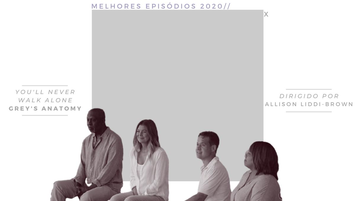 Melhores episódios séries 2020 Greys Anatomy