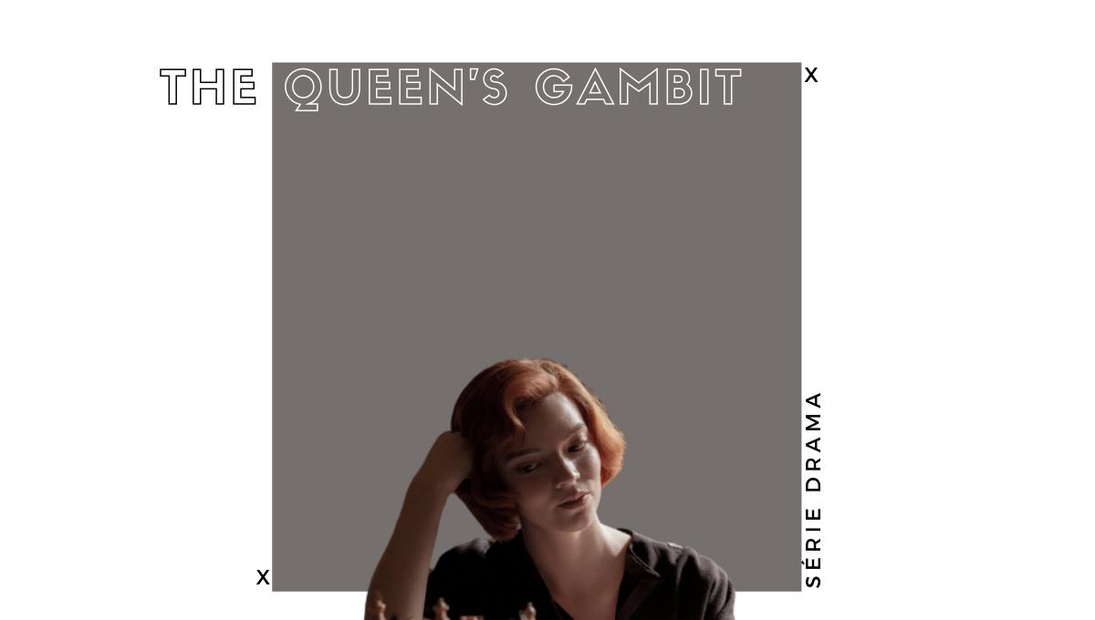 melhores séries 2020 o gambito da Rainha