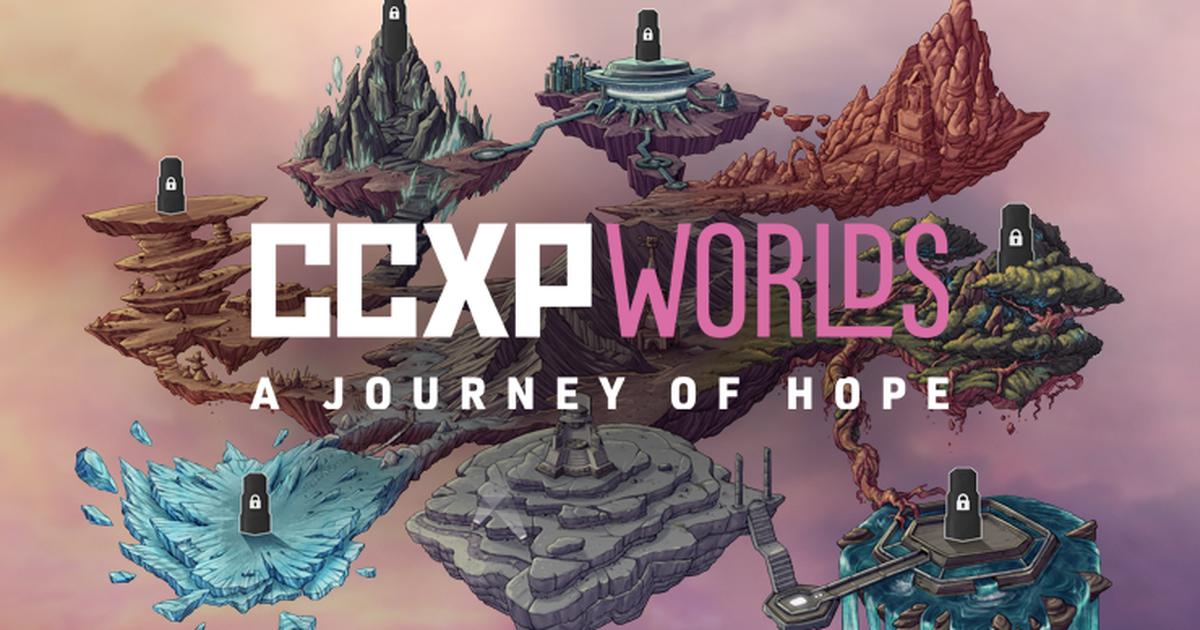 CCXP Worlds como é e o que tem