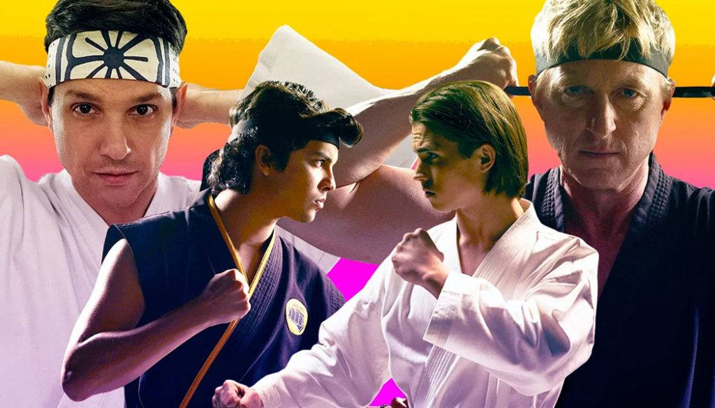 Cobra Kai séries mais assistidas Netflix 2020