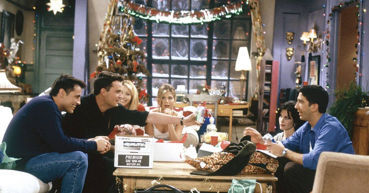 Friends melhores episódios natal