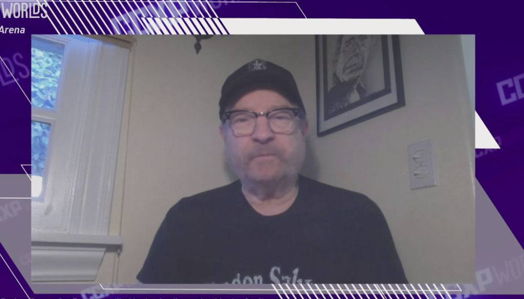 Jim Beaver reunião de Supernatural e The Boys na CCXP Worlds