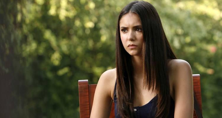 Nina Dobrev The Vampire Diaries saiu da série