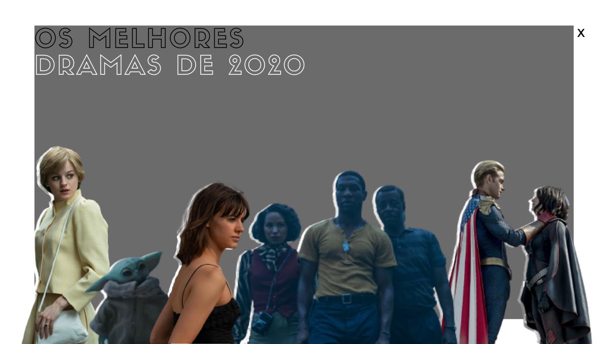 Melhores séries drama 2020 O Gambito da Rainha