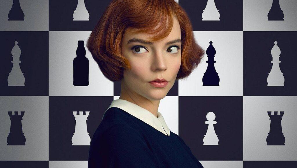 O Gambito da Rainha séries influentes momento
