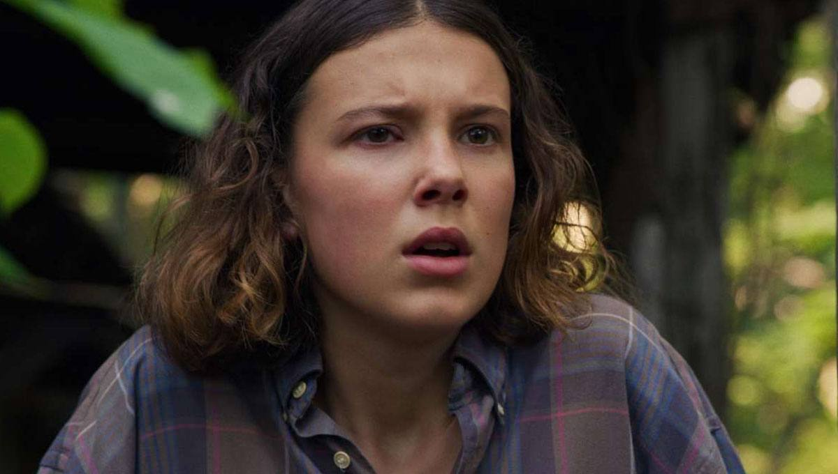 Stranger Things Millie Bobby Brown brigas bastidores