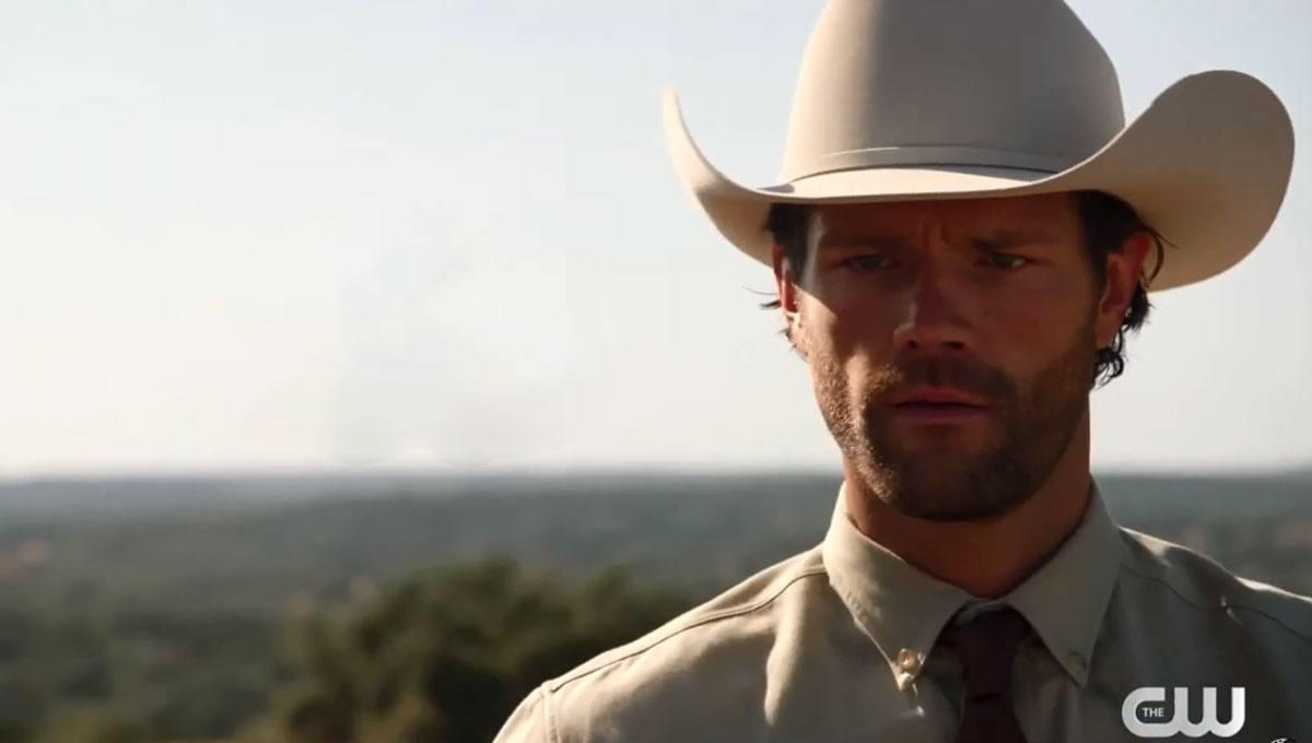 Walker trailer ator de Supernatural policial amargurado