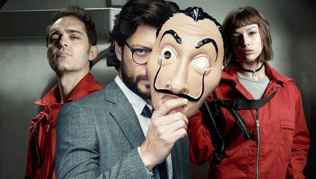 La Casa de Papel data de estreia 5 temporada