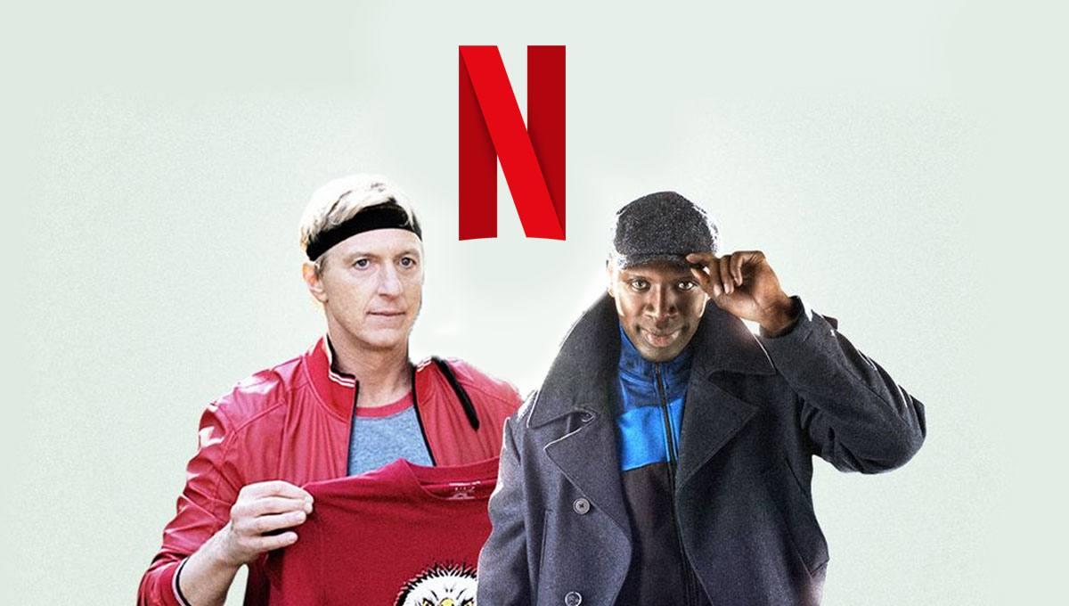 Cobra Kai Lupin melhor série Netflix 2021