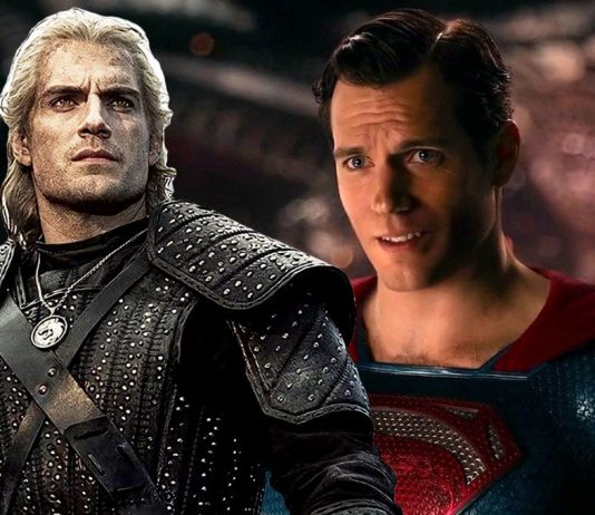 Superman The Witcher Henry Cavill