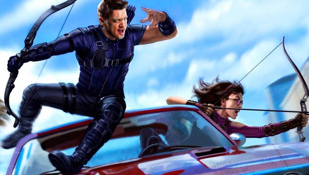Hawkeye série