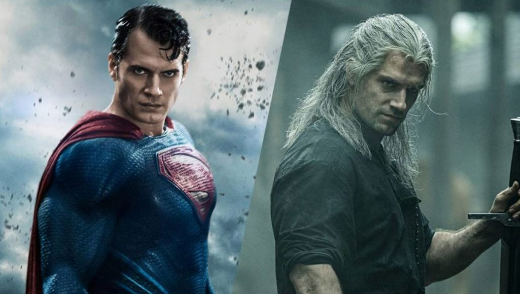The Witcher Superman Henry Cavill
