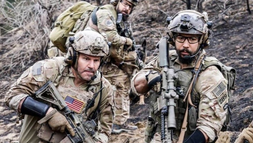 SEAL Team grande troca