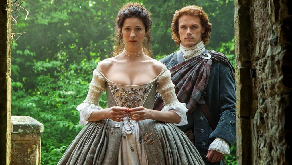 Outlander series romanticas