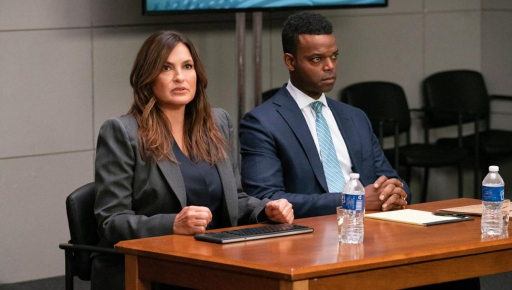 Never Turn Your Back on Them, Law & Order: SVU