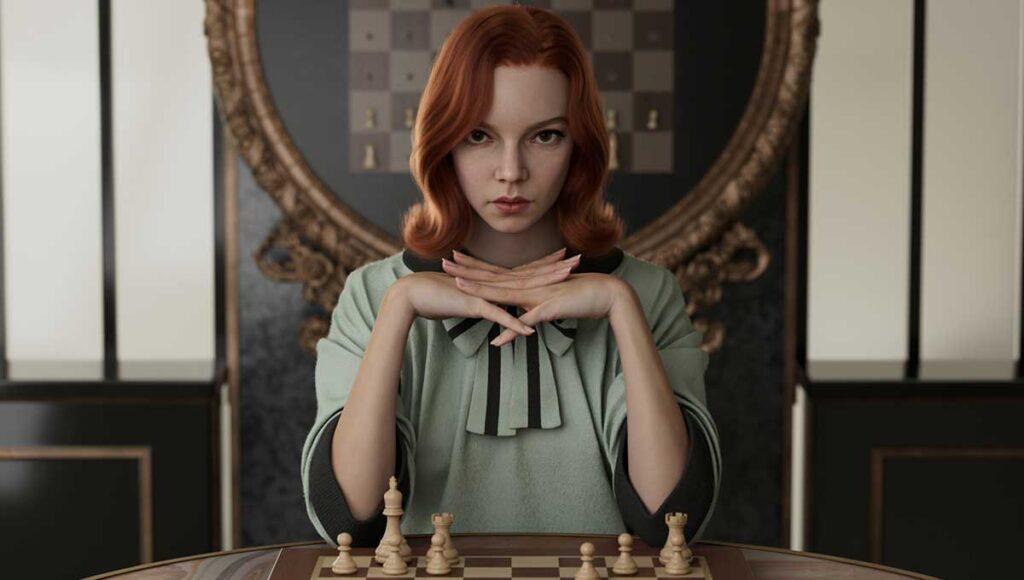 O Gambito da Rainha Emmy 2021