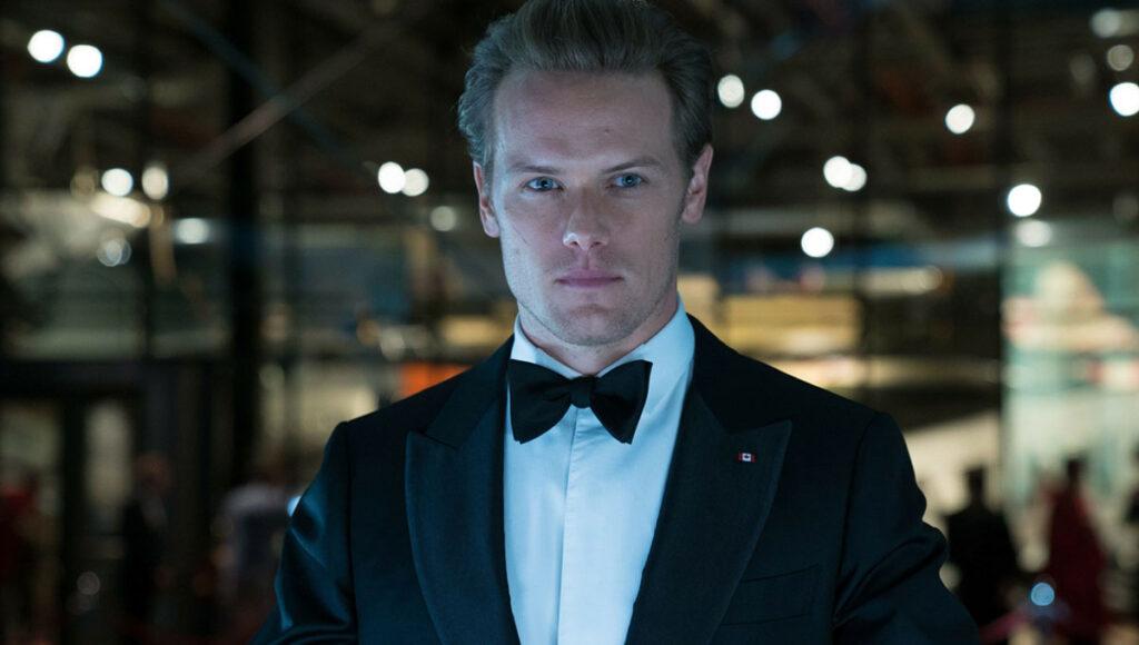 Sam Heughan James Bond Outlander
